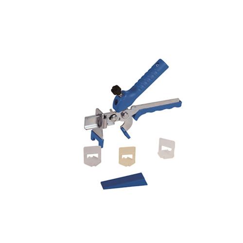 VINON TOOLS ชุดอุปกรณ์ปรับระดับกระเบื้อง 1มม. (100ชุด/ถุง)  พร้อมคีมตัด  สีขาว