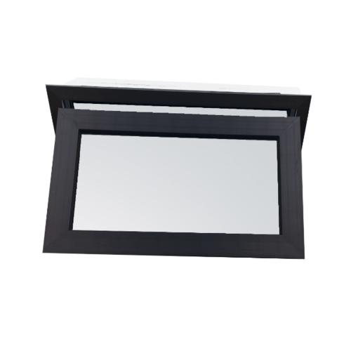 Wellingtan หน้าต่างบานกระทุ้ง UPVC 2 TONE 80x50cm  (กxส) พร้อมมุ้ง GYW4001