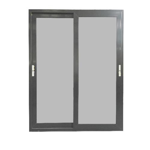 - ประตูบานเลื่อน UPVC 2 TONE 2 บาน 160x205cm (กxส) GYD1001