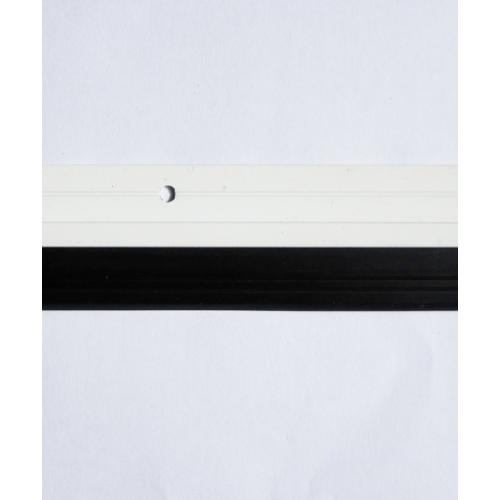 BIGROW เส้นกันแมลงอะลูมิเนียม แถบยาง ขนาด 90cm  6401  สีขาว
