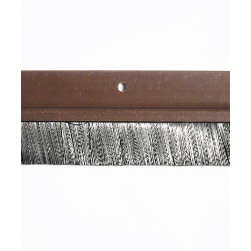 BIGROW เส้นกันแมลง PVC แถบขนแปรง  6101 80  cm.  สีน้ำตาลเข้ม