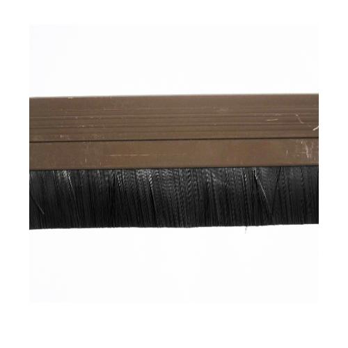 BIGROW เส้นกันแมลง PVC แถบขนแปรง 7301 90 cm.  สีน้ำตาล