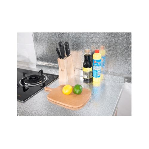 CLOSE สติ๊กเกอร์ติดผนังกันน้ำมัน ขนาด 40x500ซม.  XC002-SILVER สีเงิน