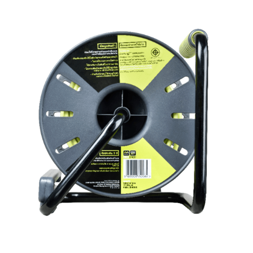 LUCECO โรลสายไฟ 30 เมตร 4 หัว เบอร์ 1.5mm OLTH30164SL-GH