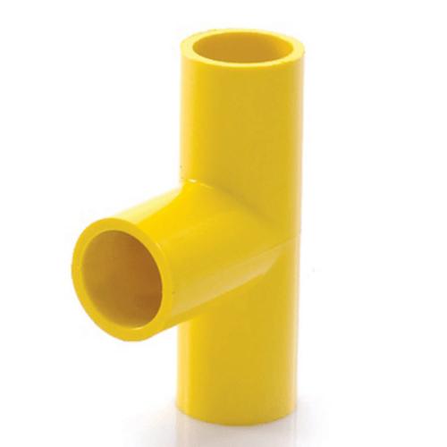 V.E.G สามทางฉากเหลือง3/4นิ้ว  -  สีเหลือง