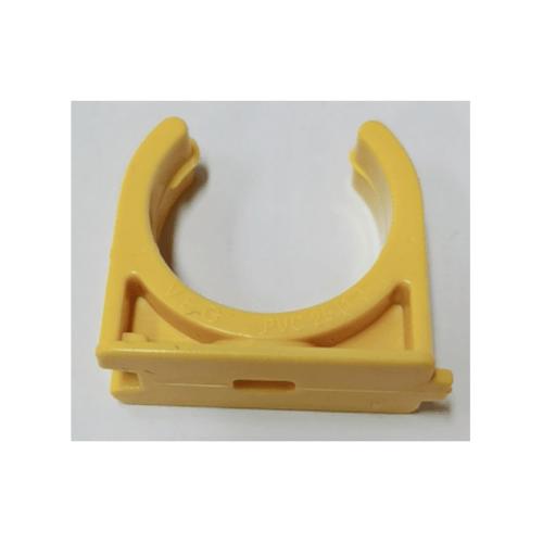 V.E.G คลิปก้ามปูร้อยสาย3/4นิ้ว  -  สีเหลือง