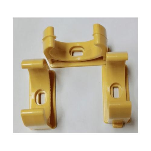 V.E.G คลิปก้ามปูร้อยสาย 1นิ้ว  -  สีเหลือง
