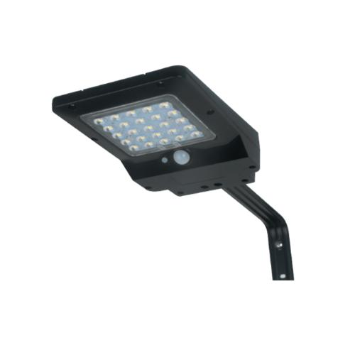LUCECO ไฟ LED ถนนโซล่าร์เซลล์ LEXSS85B60-GH สีดำ