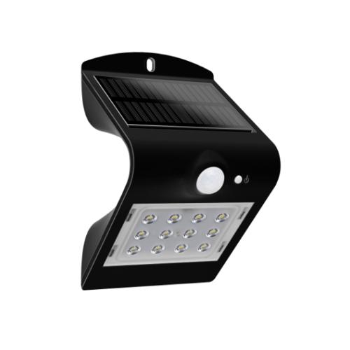 LUCECO ไฟ LED ผนังโซล่าร์เซลล์ LEXS22B40-GH สีดำ