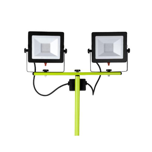 LUCECO ไฟ LED Worklight พกพา EFLDTT30B50-GH สีเขียว