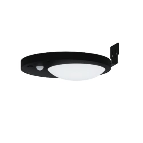 LUCECO ไฟ LED ผนังโซล่าร์เซลล์ LEXSDW25G6-GH สีดำ