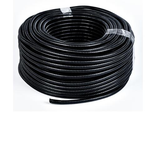 V.E.G. ท่ออ่อนเหล็กหุ้ม PVC 3/4 นิ้ว  50M/ม้วน  สีดำ