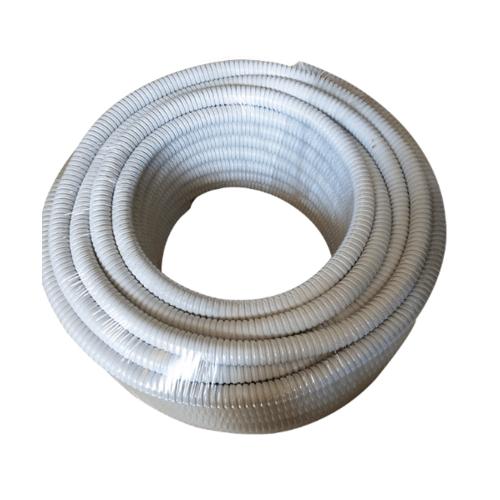 V.E.G. ท่ออ่อนเหล็กกันน้ำ 1/2 นิ้ว   10M/ม้วน  สีเทา
