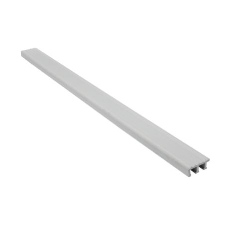 MAC  จมูกบันได PVC ขนาด 38/2.5m  SN-38-GY สีเทา