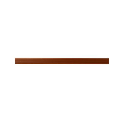 MAC  จมูกบันได PVC ขนาด 38/2.5m สีน้ำตาลทอง SN-38-LBN
