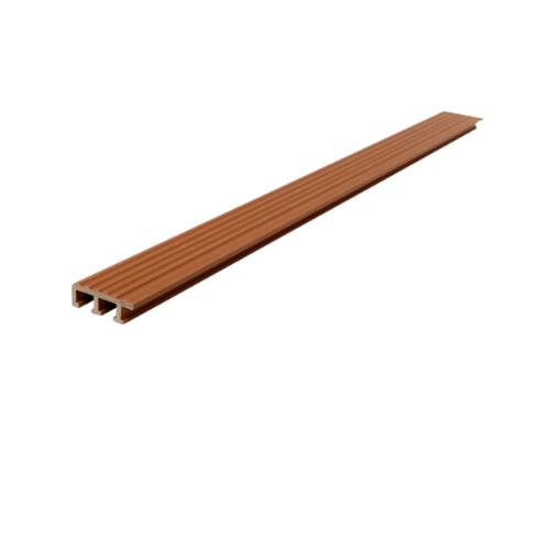 MAC  จมูกบันได PVC ขนาด 45/2.5m  สีน้ำตาลทอง SN-45-LBN