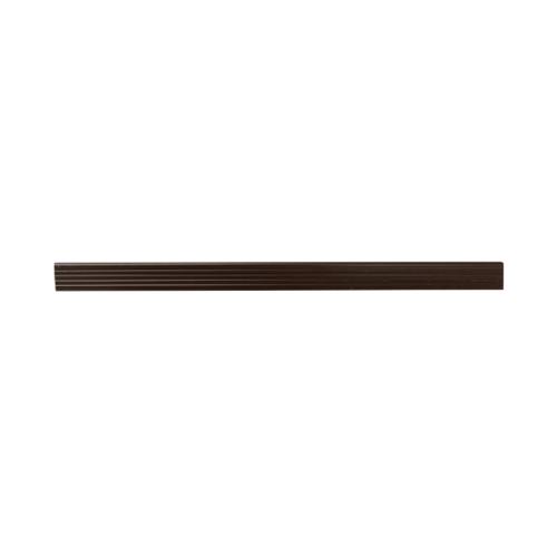 MAC จมูกบันได PVC ขนาด 38/2.5m   SN-38-DBN สีน้ำตาลเข้ม