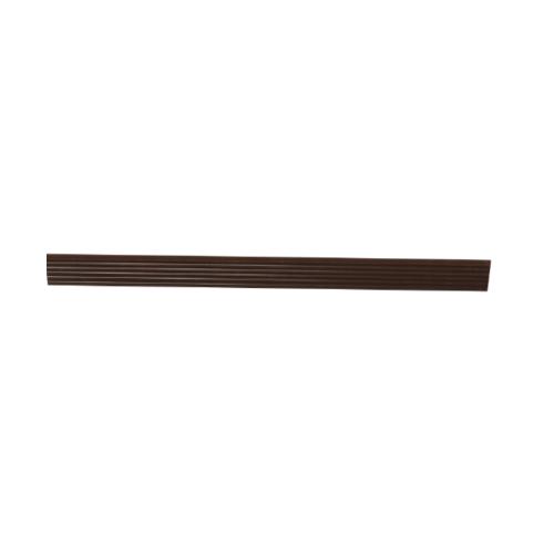 MAC  จมูกบันได PVC ขนาด 45/2.5m  SN-45-DBN สีน้ำตาลเข้ม
