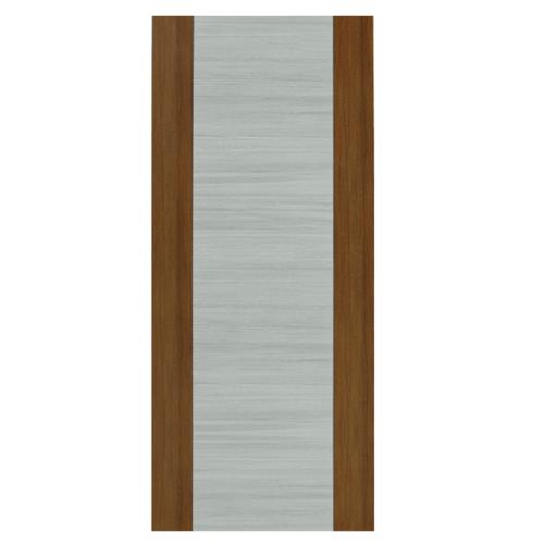 HOLZTUR ประตูเมลามีน ขนาด 80x200ซม.  MD-MD43 GRAY WENGE – BROWN OAK