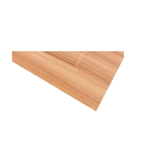 HOLZTUR ประตูปิดผิวพีวีซี บานทึบลูกฟัก ขนาด 80x200ซม. PVC-P19-3  RED MAPLE