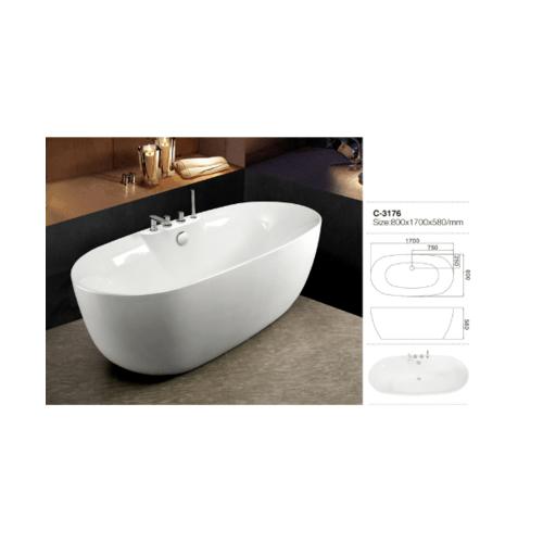 VERNO อ่างอาบน้ำ  อาชิ VN-C3176