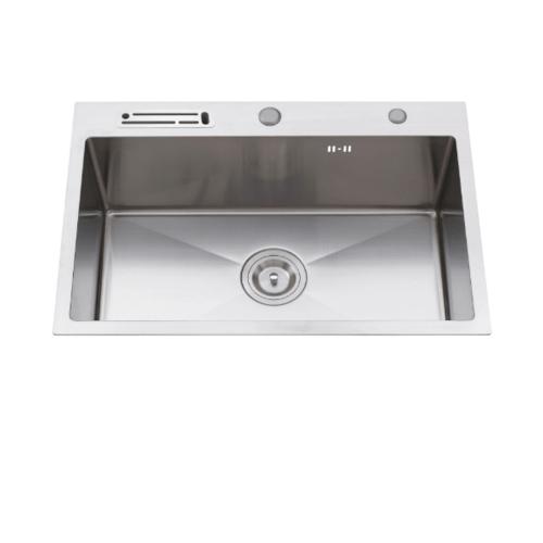 Koch Kitchen  อ่างล้างจาน 1 หลุมไม่มีที่พัก SUS304 HM-8050-SA