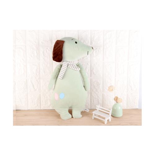 USUPSO  หมอนตุ๊กตาสุนัข 52 ซม.  สีเขียว