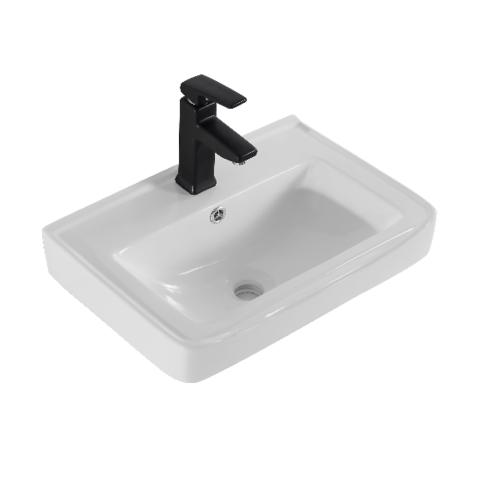 VERNO อ่างล้างหน้าแบบแขวน  เกียวโต VN-3317 **ไม่รวมก๊อกน้ำ** สีขาว