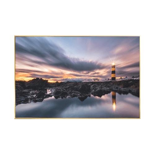 COZY ภาพพิมพ์แคนวาสพร้อมกรอบ View  ขนาด 80x120CM  6460-1095/MK-1010
