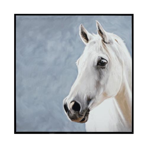 COZY  ภาพพิมพ์แคนวาสพร้อมกรอบ  Animal-Paint ขนาด 80x80CM 6460-06/MDF-1010V.1