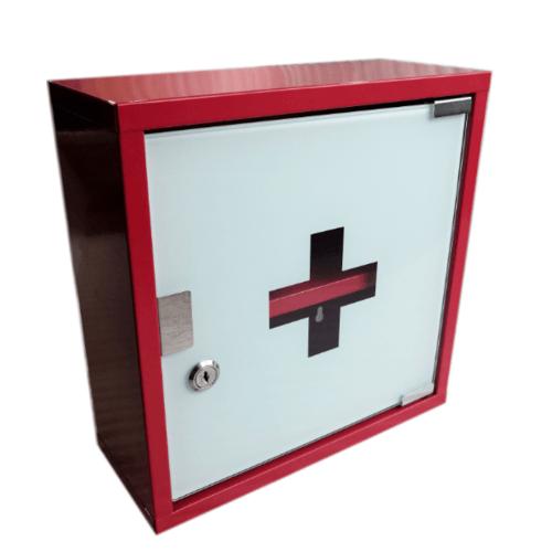 HATO ตู้ยา ขนาด 30x30x12ซม. HF105-RD สีแดง