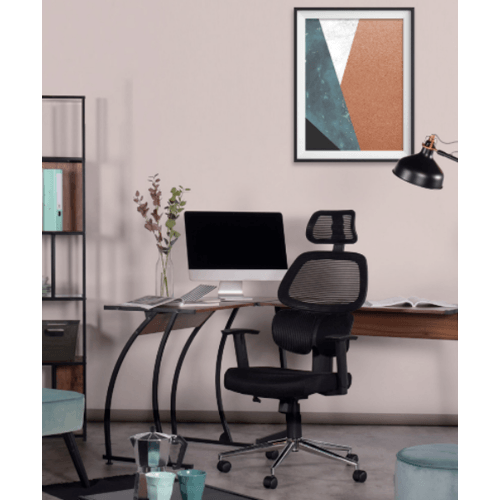 SMITH เก้าอี้สำนักงาน   ขนาด 64x131 ซม. TIKITERE สีดำ