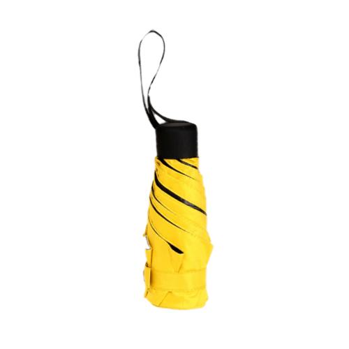 Tree O ร่มกันแดดมินิ UV50+   HH-2015A YEL/BLK สีเหลือง-ดำ