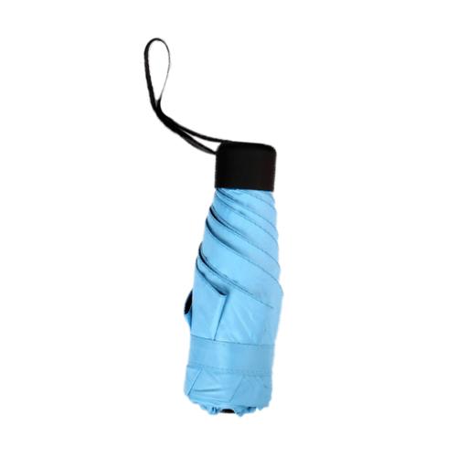 Tree O ร่มกันแดดมินิ UV50 HH-2015C สีฟ้า