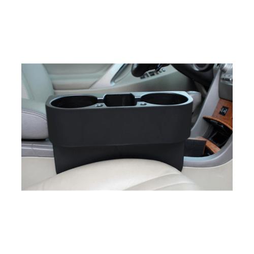 Cover ที่วางแก้วเสียบข้างเบาะรถยนต์ COVER ขนาด280x100x210มม. CA-1 สีดำ
