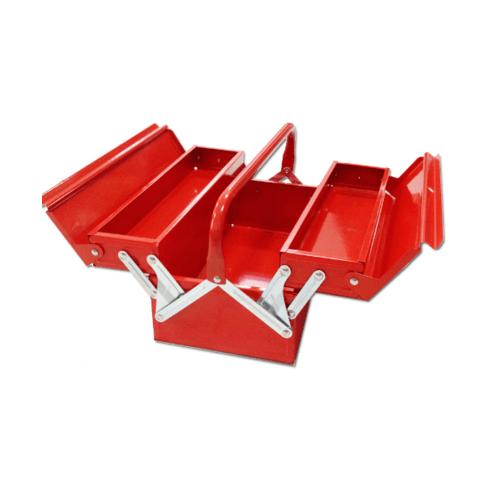 HUMMER กล่องเครื่องมือเหล็ก 2 ชั้น 16นิ้วสีแดง HMJS-07 16