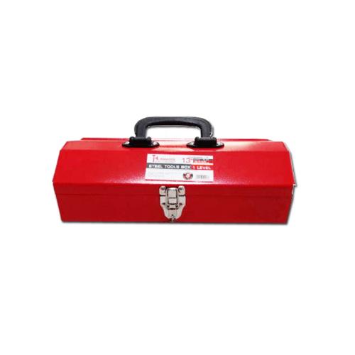 HUMMER กล่องเครื่องมือเหล็ก 1 ชั้น 13นิ้ว (สีแดง) HMJS-01 สีแดง
