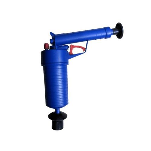 VAVO อุปกรณ์ปั๊มโถสุขภัณฑ์ ขนาด 27.5*9.5*28 cm  TB-ST01-BU สีน้ำเงิน