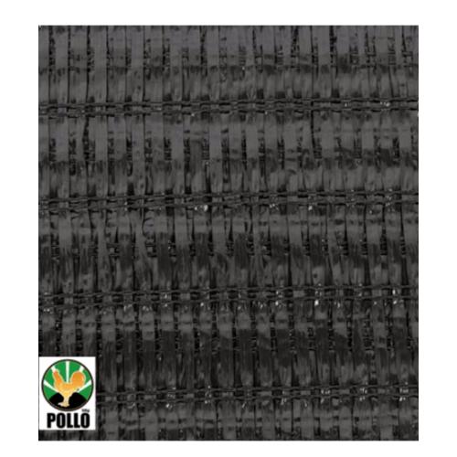 POLLO สแลนท์ HDPE 70% ขนาด 2x10เมตร. V-shape (แพ๊ค) SH3211-70 สีดำ