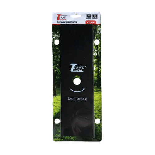 TUF ใบมีดตัดหญ้าทรงสีเหลี่ยม 305x90x1.8mm KT0206