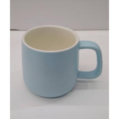 - แก้วเซรามิค  Y046-B สีฟ้า