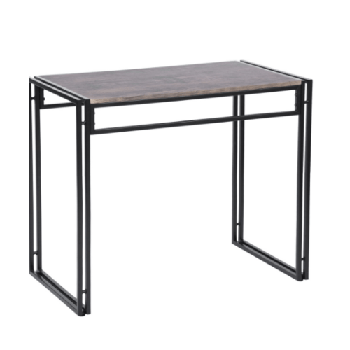 Delicato ชุดโต๊ะอาหาร 2 ที่นั่ง  ESSIEN สีดำ