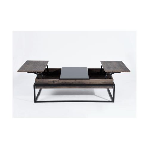 Delicato โต๊ะกลางอเนกประสงค์ 124x61x45ซม.  Lundy  สีน้ำตาล