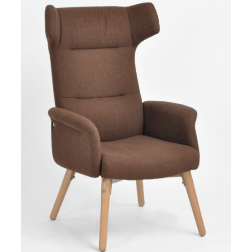 Pulito เก้าอี้พักผ่อน 71x72x112ซม.  ENDL  สีน้ำตาล