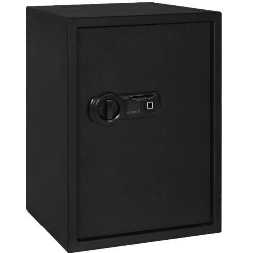 Protx ตู้เซฟสแกนลายนิ้วมือ 50x30x31 ซม. 50FIE Black สีดำ