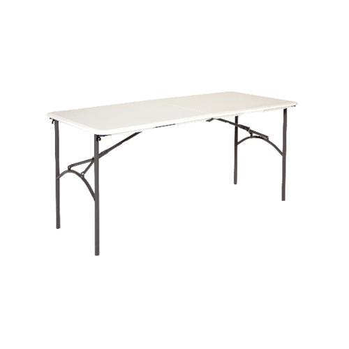LIFETIME โต๊ะอเนกประสงค์ ขนาด 4ฟุต  2940 สีขาว