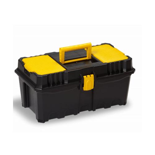 PORT-BAG กล่องเครื่องมือพลาสติก PB   AP-02 16นิ้ว  สีเหลือง-ดำ