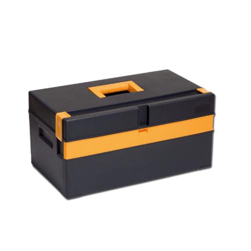 PORT-BAG กล่องเครื่องมือพลาสติก  PB  16นิ้ว CP-01 สีดำ-เหลือง