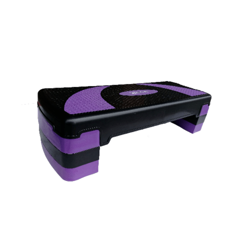 4TEM แท่นเสต็ปแอโรบิค 3 ระดับ DY-T005 สีม่วง