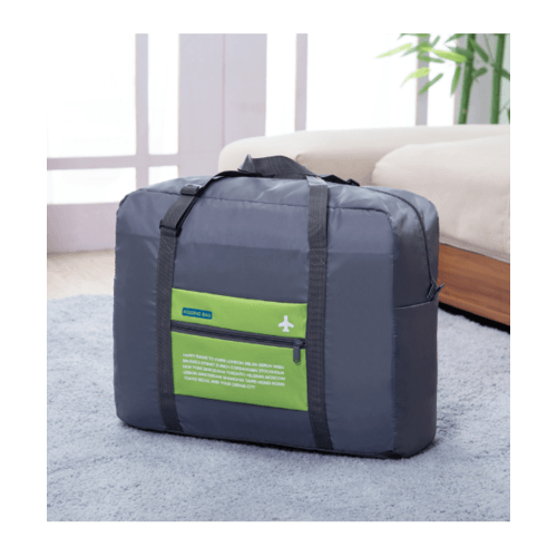 WETZLARS กระเป๋าอเนกประสงค์แบบสอดได้ ขนาด 48x38x20 cm สีเทา-เขียว  ZRH-024-GN